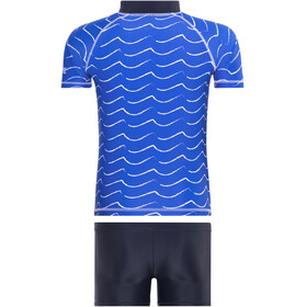 Regatta Wader UV Shirt Kids oxford blue/navy